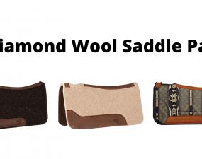 Best Diamond Wool Saddle Pads